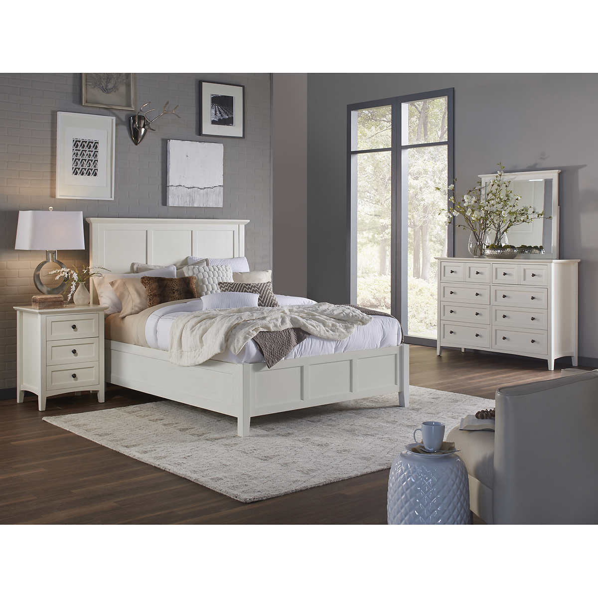 Ikea hemnes bedroom set beauteous hemnes bed frame queen ikea design ideas - Bedroom sets at ikea ...