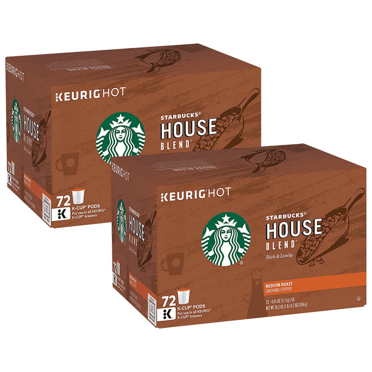 Starbucks House Blend Coffee 72 K-Cup